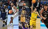 Basketball Champions League: Οι 5 υποψήφιοι για τον τίτλο του MVP της σεζόν! (videos)