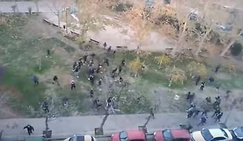 Απίστευτο ξύλο οπαδών πριν το Σαραγόσα-Ράσινγκ Σανταντέρ (video)
