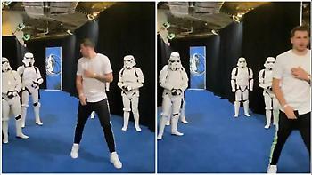 Τρόμαξε από Stormtrooper ο Ντόντσιτς (video)
