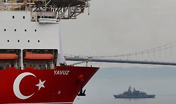 Επεισόδιο στη Κυπριακή ΑΟΖ: Το τουρκικό ναυτικό έδιωξε ισραηλινό ερευνητικό πλοίο
