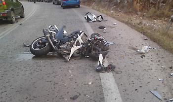 Ρέθυμνο: Νεκρός 27 χρόνος οδηγός μηχανής σε τροχαίο