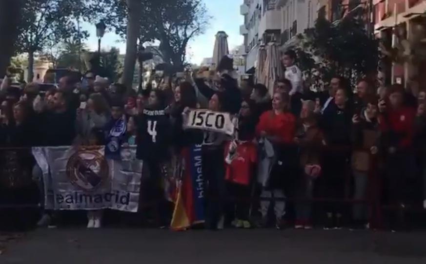 Εντυπωσιακή υποδοχή της Ρεάλ στην Βαλένθια (video)