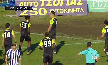 Ο Σιφναίος «εκτελεί» εξ επαφής τον Απόλλωνα Σμύρνης για το 1-0