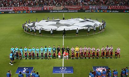 Ο Ολυμπιακός 24ος στη γενική λίστα της UEFA στο Κύπελλο πρωταθλητριών-Τσάμπιονς Λιγκ!