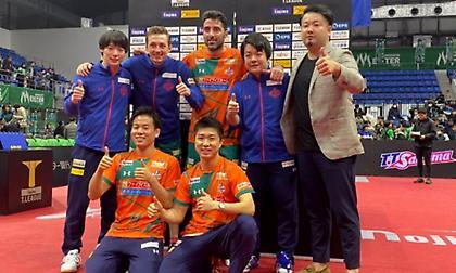 Πολύ δυνατός και στην ιαπωνική «T» League ο Γκιώνης