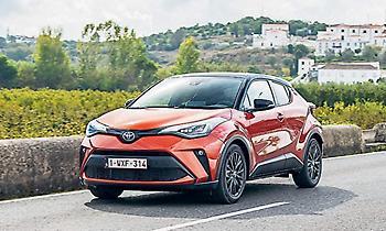 Ακόμα πιο δυναμικό το νέο Toyota C-HR