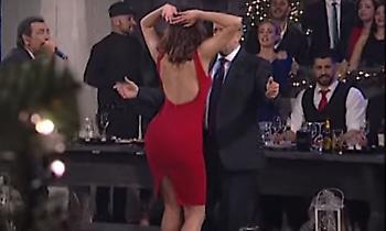Ο χορός της Κατερίνας Λιόλιου προκάλεσε… ταραχή και τρέλανε τον Σπύρο Παπαδόπουλο (video)