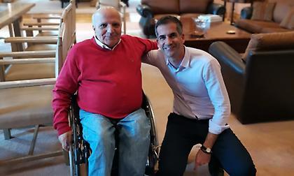 Συνάντηση του προέδρου της ΕΠΕ και της ΕΑΟΜ-ΑμεΑ με τον Δήμαρχο Αθηναίων