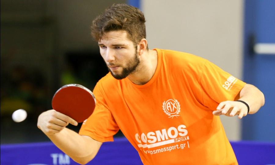 Προσκλήθηκε και ο Κορδούτης στο Ευρωπαϊκό Πρωτάθλημα πινγκ πονγκ Under 21