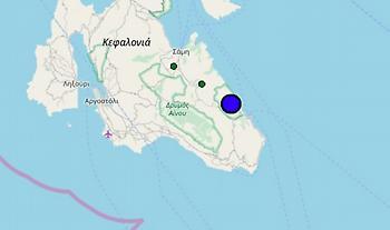 Σεισμός 4,8 Ρίχτερ στην Κεφαλονιά - Ανήσυχοι οι κάτοικοι