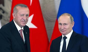 Διάσκεψη Βερολίνου: Συνάντηση Ερντογάν – Πούτιν