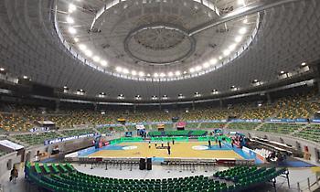 Μπούργος: Το γήπεδο μπάσκετ που μετατρέπεται σε αρένα ταυρομαχιών! (pics&video)