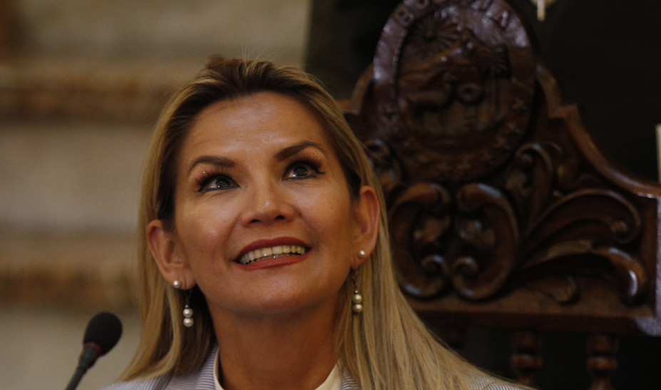 Βολιβία: Η Άνιες ανακοίνωσε την υποψηφιότητά της για τις προεδρικές εκλογές του Μαΐου