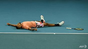 Στους «16» του Australian open ο Κύργιος
