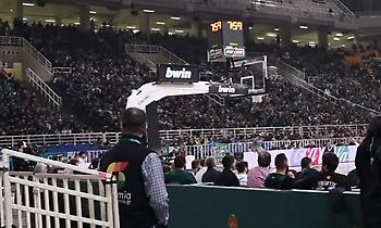 Η παρακάμερα από το Παναθηναϊκός-Βιλερμπάν (video)