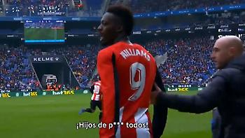 Έβρισε τους ρατσιστές οπαδούς της Εσπανιόλ ο Ινιάκι Γουίλιαμς (video)