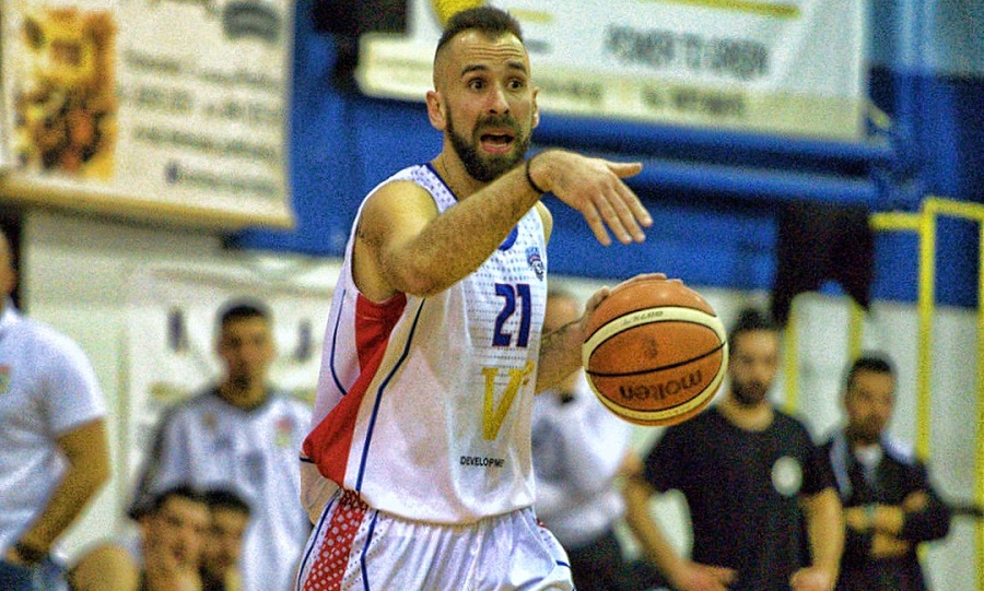 MVP της αγωνιστικής στην Α2 ο Βασιλόπουλος