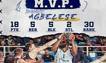Basket League: MVP της αγωνιστικής ο Αγκμπελέσε!
