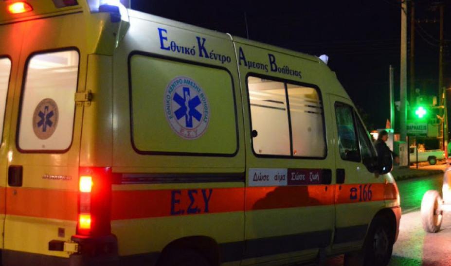 Κρήτη: Απεγκλωβισμός τραυματία οδηγού σε σοβαρό τροχαίο