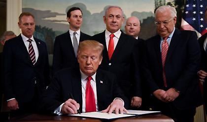 Το σχέδιο Τραμπ για το Παλαιστινιακό που βάζει «φωτιά» στη Μέση Ανατολή