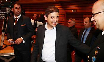 Στα βραβεία του ΠΣΑΠ ήταν ο Αυγενάκης