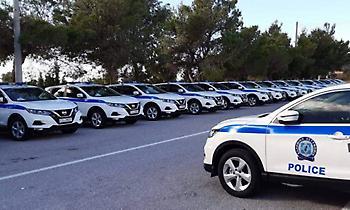Περιπολικά Nissan Qashqai για την Ελληνική Αστυνομία