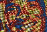 Φοβερό: Έφτιαξαν πορτραίτο Κόμπι με κύβους του Ρούμπικ (video)