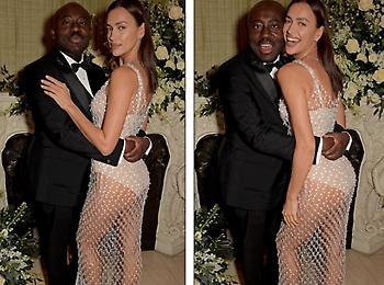 Έκλεψε την παράσταση στο πάρτι των BAFTA η Ιρίνα Σάικ (pics)