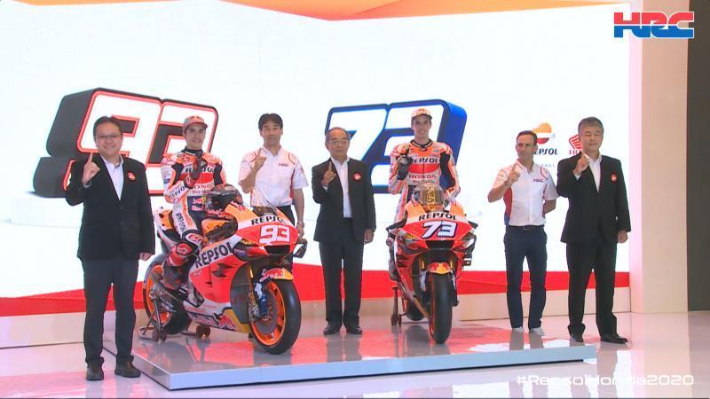 Παρουσίασε τους αδερφούς Μάρκεθ η Repsol Honda