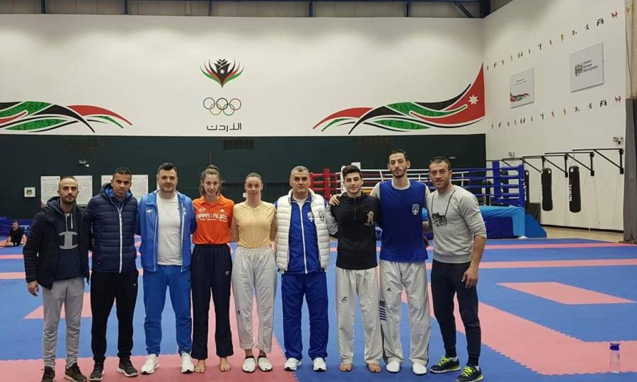 «Ανεβάζει ρυθμούς» στην Ιορδανία η προολυμπιακή ομάδα ταεοβοντό, ενόψει Μιλάνου