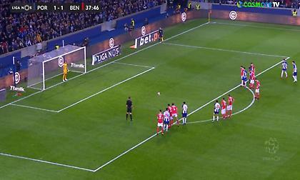 Πέναλτι, αυτογκόλ και… 3-1 η Πόρτο στο ντέρμπι με την Μπενφίκα (vids)