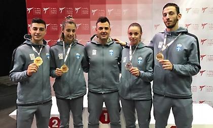 Νέος θρίαμβος για την ελληνική προολυμπιακή ομάδα ταεκβοντό