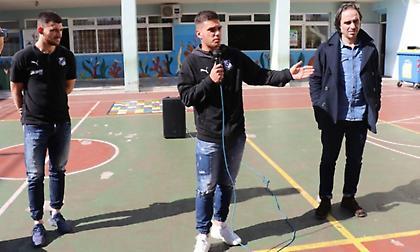Ο ΟΦΗ στο 32ο Δημοτικό Σχολείο Ηρακλείου (video)