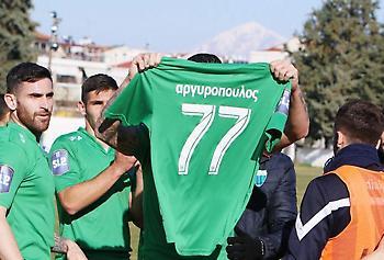 Ρήξη χιαστού ο Αργυρόπουλος