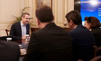 Συνάντηση Μητσοτάκη-Αυγενάκη: Ο απολογισμός και το σχέδιο για το 2020 στον αθλητισμό