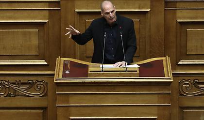Ο Βαρουφάκης κατέθεσε στη Βουλή τις ηχογραφήσεις από το Eurogroup του 2015