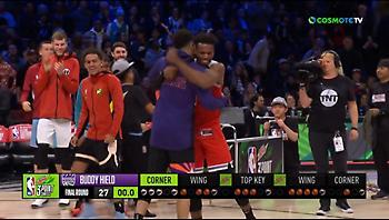 ΝΒΑ All-Star Weekend: Με… buzzer beater κέρδισε στο διαγωνισμό τριπόντων ο Χιλντ