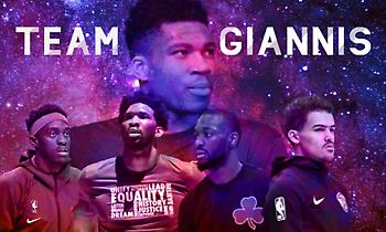 Αll Star Game – Team Giannis: Ο «Greek» και τα… «Freaks»! (video & photos)