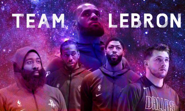 Αll Star Game – Team LeBron: Ο «Βασιλιάς» και οι… υπασπιστές του! (photos)