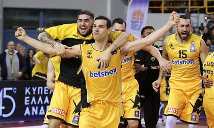 Στις 11 το βράδυ επιστρέφει στην Αθήνα η Κυπελλούχος ΑΕΚ!