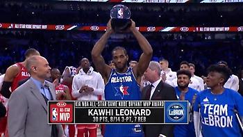 MVP και στο All Star Game ο Λέοναρντ! (video)