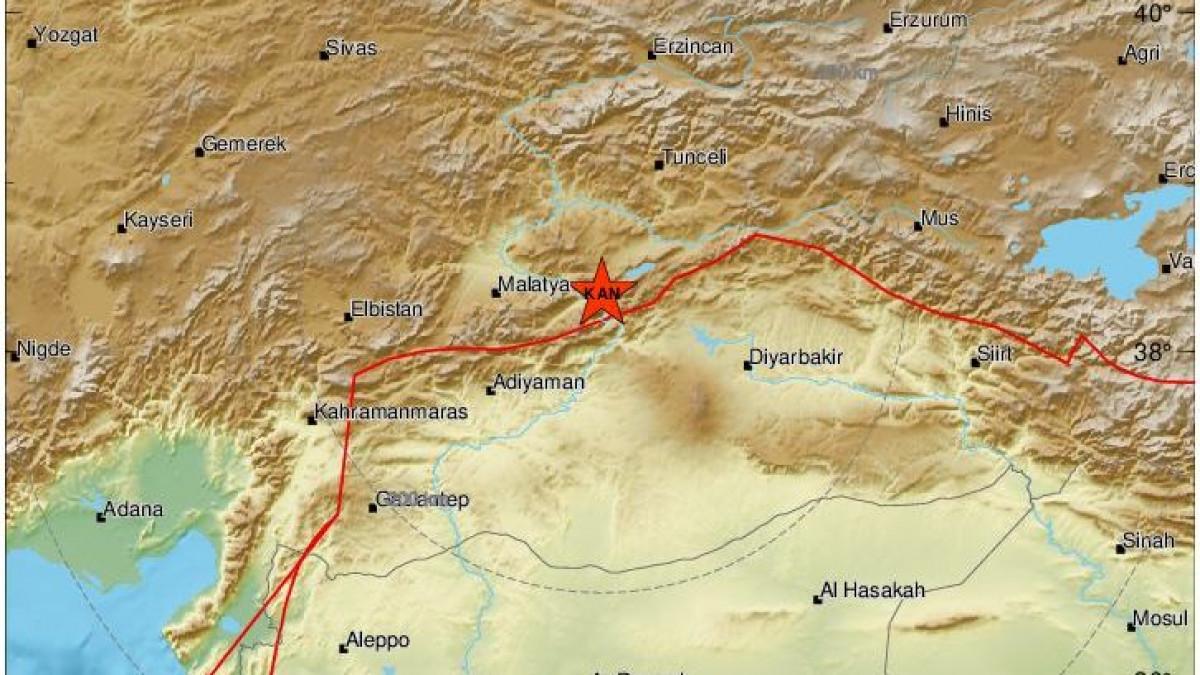 Ισχυρή σεισμική δόνηση στην Τουρκία