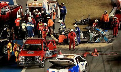 Τρομακτικό ατύχημα στο Daytona 500 (video)