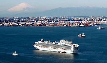Κορωνοϊός: Ξεκίνησε η αποβίβαση των επιβατών του κρουαζιερόπλοιου Diamond Princess