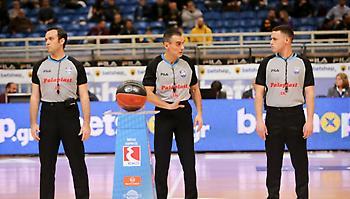 Οι διαιτητές της 19ης αγωνιστικής της Basket League