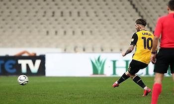 Σκόραρε και ο Λιβάγια, 4-0 η ΑΕΚ (video)