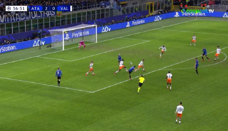 Απίθανο πλασέ του Φρόιλερ και 3-0 η Αταλάντα (video)