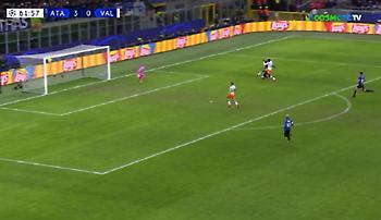 Τέταρτο γκολ με τον Χάτεμπερ η Αταλάντα, μείωσε για τη Βαλένθια ο Τσέρισεφ (vids)