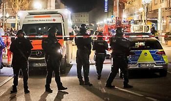 Επίθεση στη Γερμανία: Νεκρός ο δράστης - 8 νεκροί, 5 τραυματίες