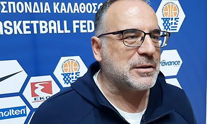 Σκουρτόπουλος: «Πρόκριση και ανανέωση οι στόχοι μας»